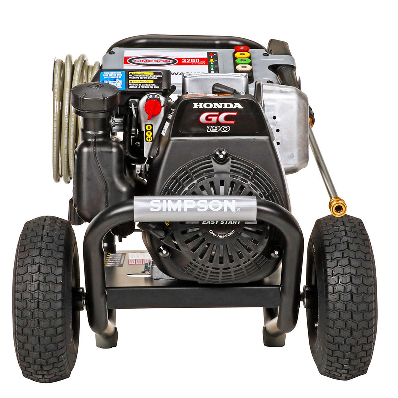 Simpson Megashot 3,200 PSI 2.5 GPM Gas Pressure Washer with Honda Engine, 60551R, Factory Refurbished