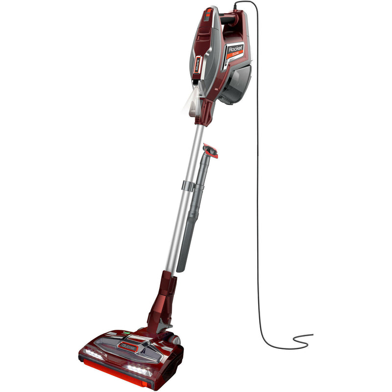 Shark Rocket Complete DuoClean Corded Stick Vacuum, HV380, Factory Refurbished