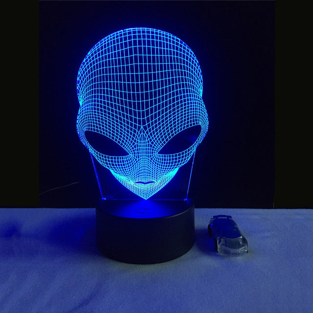 Alien Shape LED Lamp