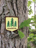 Kawartha Trees Iron On Patch
