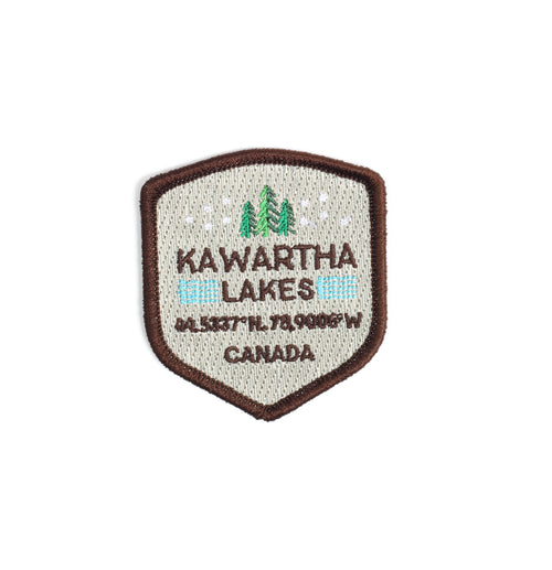 Kawartha Shield Iron On Patch