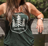 Kawartha Green Tank - Three Trees logo