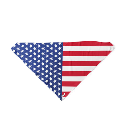 Banana Bandanas American Badass dog bandana patriotic american flag dog bandana USA spread triangle dog bandana