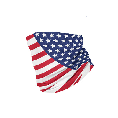 Banana Bandanas American Badass headband patriotic american flag headband USA spread folded view