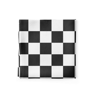 Banana Bandanas Checkmate bandana gingham checkerboard spread alternative photo