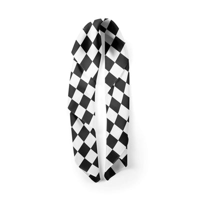 Banana Bandanas Checkmate overripe bandana gingham checkerboard spread alternative photo
