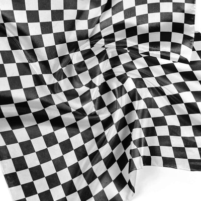 Banana Bandanas Checkmate overripe bandana gingham checkerboard spread detail photo