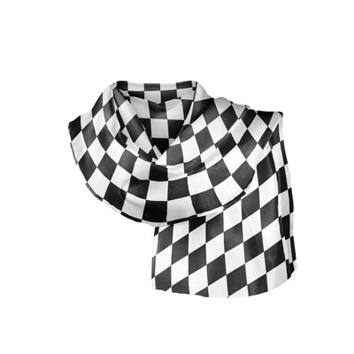 Banana Bandanas Checkmate overripe bandana gingham checkerboard spread folded photo