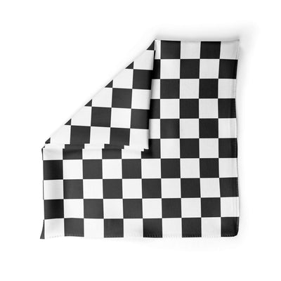 Banana Bandanas Checkmate dog bandana gingham checkerboard spread alternative photo