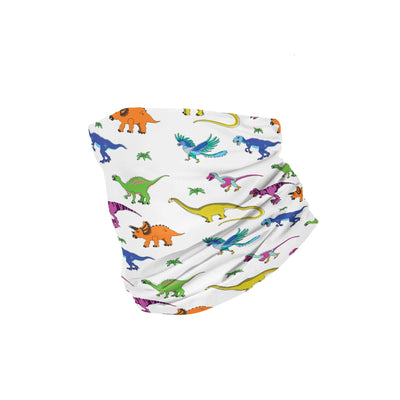 Banana Bandanas Derpy Dinos headband dinosaur illustration folded photo