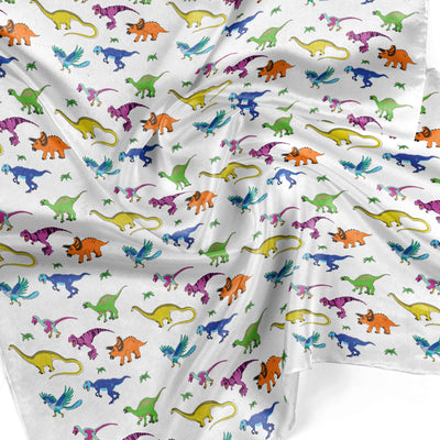 Banana Bandanas Derpy Dinos overripe dog bandana dinosaur illustration detail photo