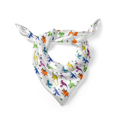 Banana Bandanas Derpy Dinos overripe dog bandana dinosaur illustration folded photo