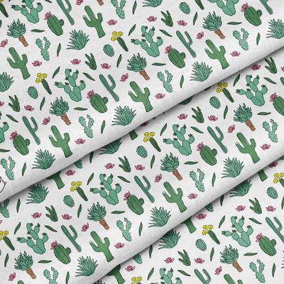 Banana Bandanas Desert Dreams bandana cactus illustration detail photo
