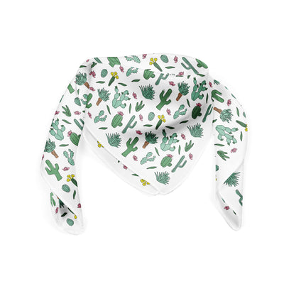 Banana Bandanas Desert Dreams bandana cactus illustration folded photo