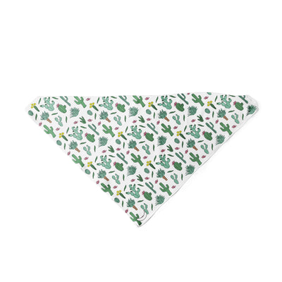 Banana Bandana Desert Dreams dog bandana cactus illustration triangle dog bandana
