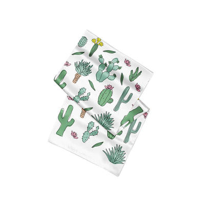 Banana Bandanas Desert Dreams overripe dog bandana cactus illustration alternative photo