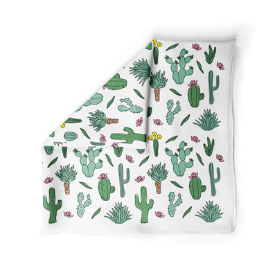 Banana Bandana Desert Dreams dog bandana cactus illustration alternative photo