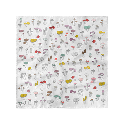 Banana Bandanas Forehead Forager overripe dog bandana mushroom illustration flat photo