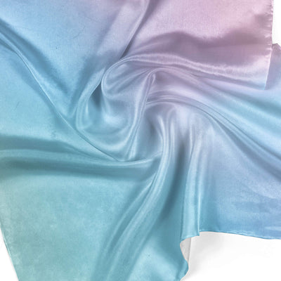 Banana Bandanas Glow overripe bandana blue and pink abstract spread overripe bandana detail photo