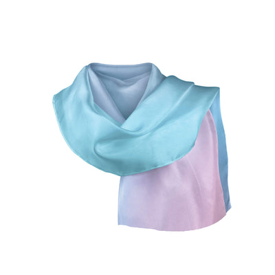 Banana Bandanas Glow overripe bandana blue and pink abstract spread overripe bandana folded photo