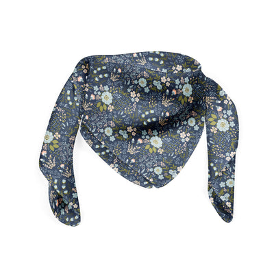 Banana Bandanas Grandmas Garden bandana vintage floral illustration bandana folded photo