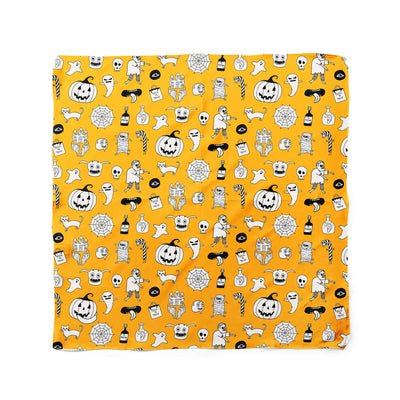 Banana Bandanas hocus pocus dog bandana cute halloween dog bandana orange flat photo