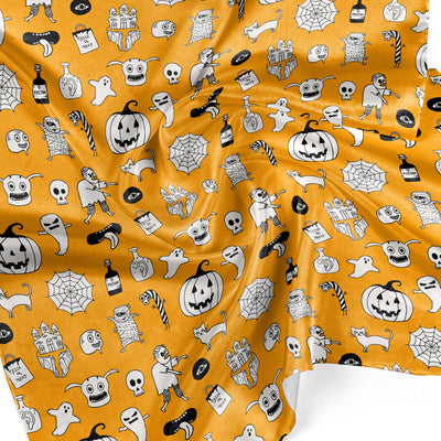 Banana Bandanas hocus pocus overripe bandana cute halloween overripe bandana orange detail photo