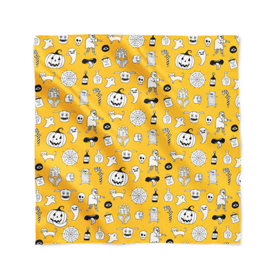 Banana Bandanas hocus pocus overripe bandana cute halloween overripe bandana orange flat photo