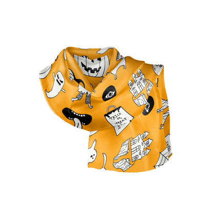 Banana Bandanas hocus pocus overripe bandana cute halloween overripe bandana orange folded photo