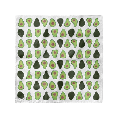 Banana Bandanas Holy Guacamole overripe dog bandana avocado illustration flat photo