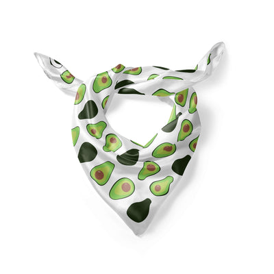 Banana Bandanas Holy Guacamole overripe dog bandana avocado illustration folded photo