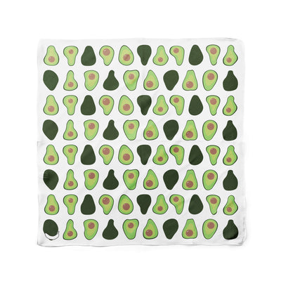 Banana Bandanas Holy Guacamole dog bandana avocado illustration flat photo