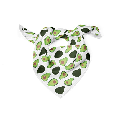 Banana Bandanas Holy Guacamole dog bandana avocado illustration folded photo