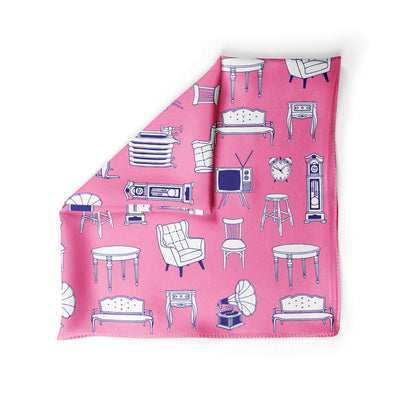 Banana Bandanas Home Sweet Home dog bandana furniture home illustration dog bandana bubblegum pink alternative photo
