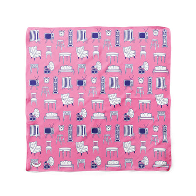 Banana Bandanas Home Sweet Home dog bandana furniture home illustration dog bandana bubblegum pink flat photo