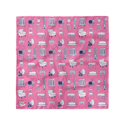 Banana Bandanas Home Sweet Home overripe dog bandana furniture home illustration overripe dog bandana bubblegum pink flat photo