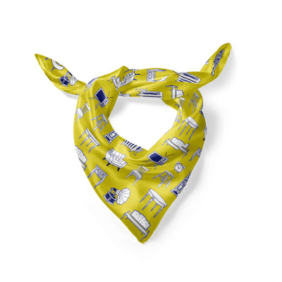 Banana Bandanas Home Sweet Home overripe dog bandana furniture home illustration overripe dog bandana hot mustard folded photo