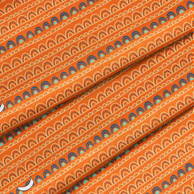 Banana Bandanas Magic Carpet Ride bandana orange magic carpet bandana detail photo