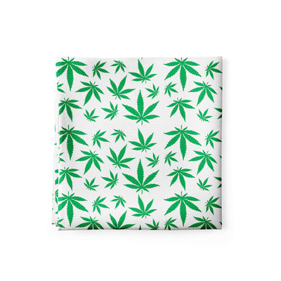 Banana Bandanas mary jane maze bandana marijuana weed illustration alternative view