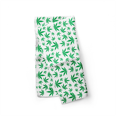 Banana Bandanas Mary Jane Maze dog bandana marijuana weed illustration alternative view