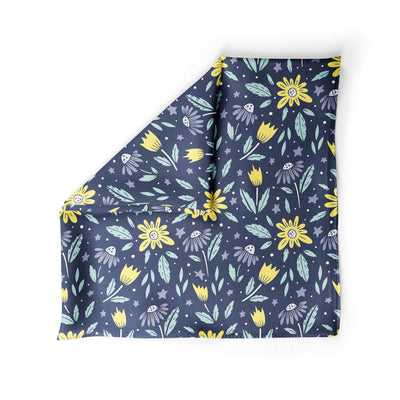 Banana Bandanas Moonflower dog bandana space floral pattern alternative photo