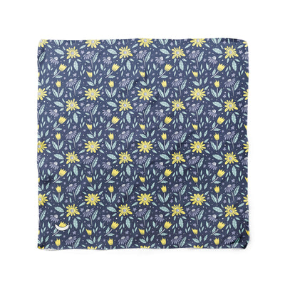Banana Bandanas Moonflower dog bandana space floral pattern flat photo