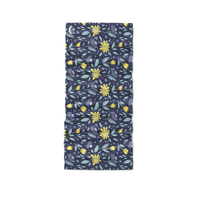 Banana Bandanas Moonflower headband space floral blue headband flat photo