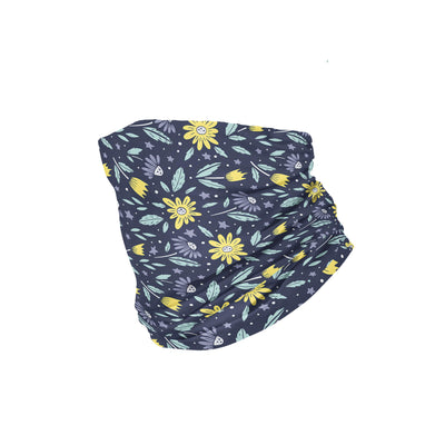Banana Bandanas Moonflower headband space floral blue headband folded photo