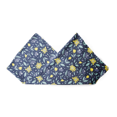 Banana Bandanas Moonflower overripe dog bandana space floral pattern alternative photo