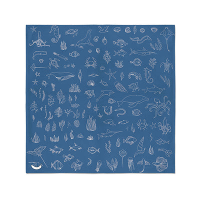 Banana Bandanas Motion in the Ocean bandana ocean creatures illustration flat photo