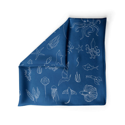 Banana Bandanas Motion in the Ocean dog bandana ocean creatures illustration alternative photo