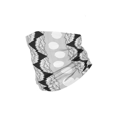 Banana Bandanas Big Pointy Rocks headband mountain range hiking bandana illustration black and white folded photo