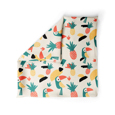 Pineapple Parrot - Dog Bandana