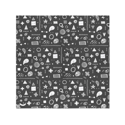 Banana Bandanas Play Time bandana hand drawn shape illustrations bandana chalkboard flat photo